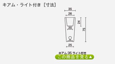 キアム35・ライト付き