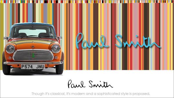 Paul Smith(ポールスミス)・ブランド説明
