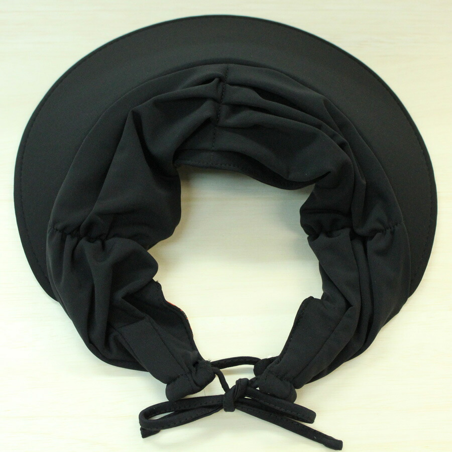 7770c5263a68db In Australia, America and Europe most popular ♪ is a fashionable ladies '  visors. Size adjustable head strap. Color: black