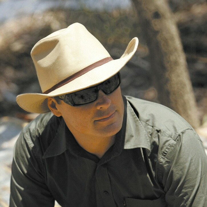 Sunglobe: Sun hat - Mens hat - Cowboy Style Canvas Hat ...