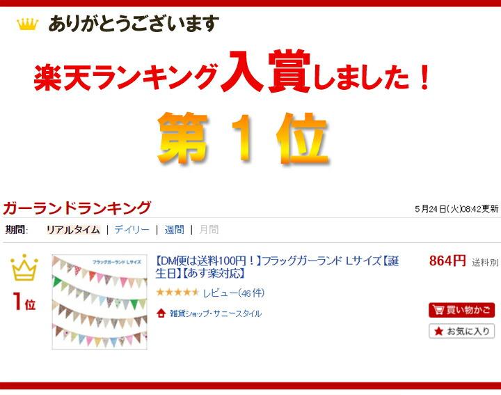 ランキング1位入賞!
