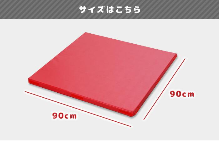 サイズは大判の90×90×4cm