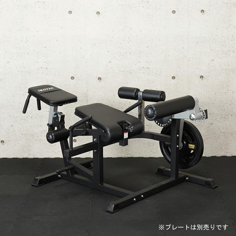IROTEC 筋トレ インクラインベンチ トレーニング器具