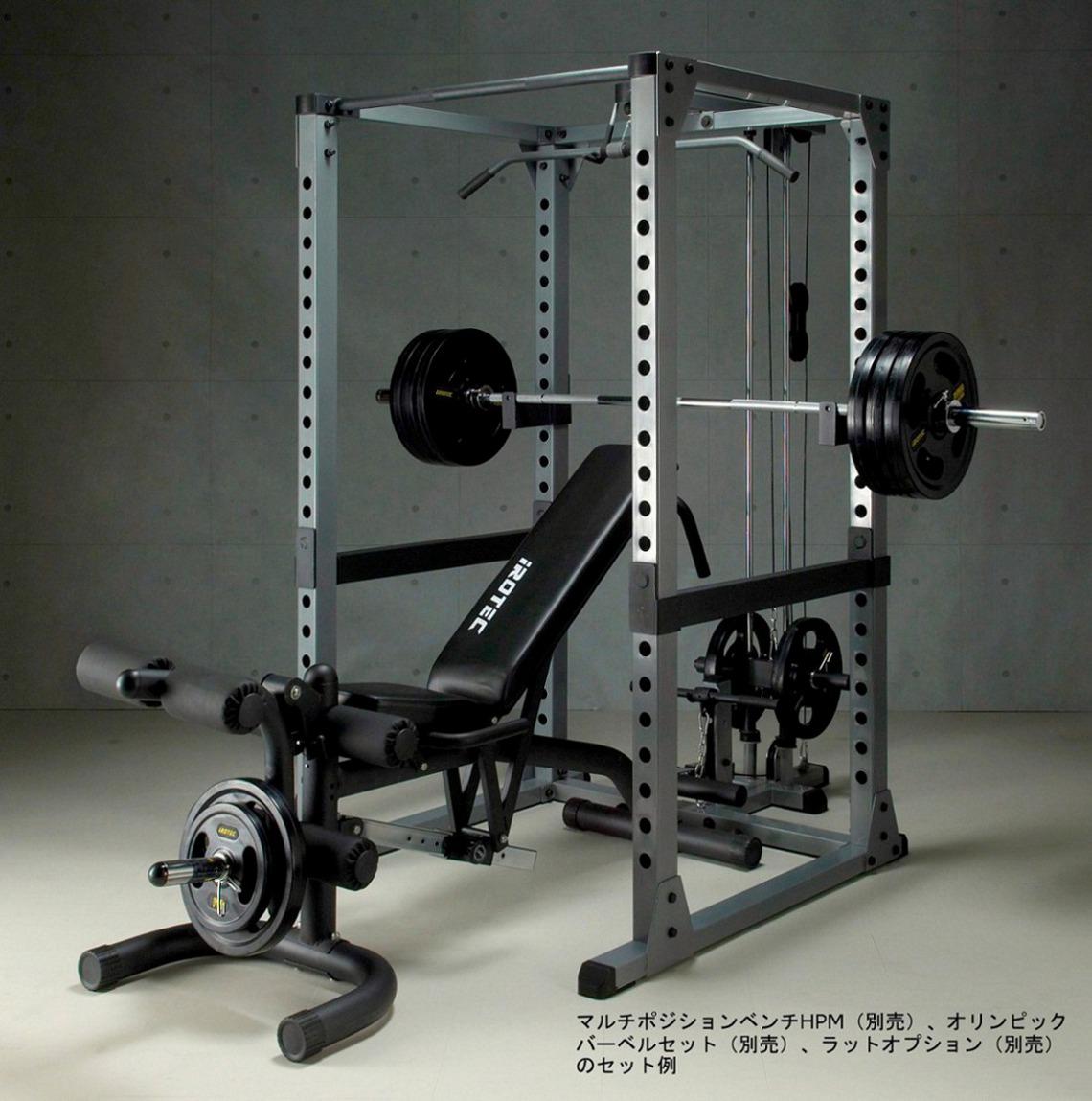 IROTEC トレーニング器具 ベンチプレス ダンベル バーベル プレスベンチ スクワット