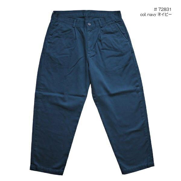 DEEP BLUE 72831 ディープブルー 切替ワイドテーパードパンツ