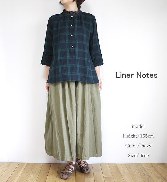 Liner Notes slone square バテンレース ブラウス