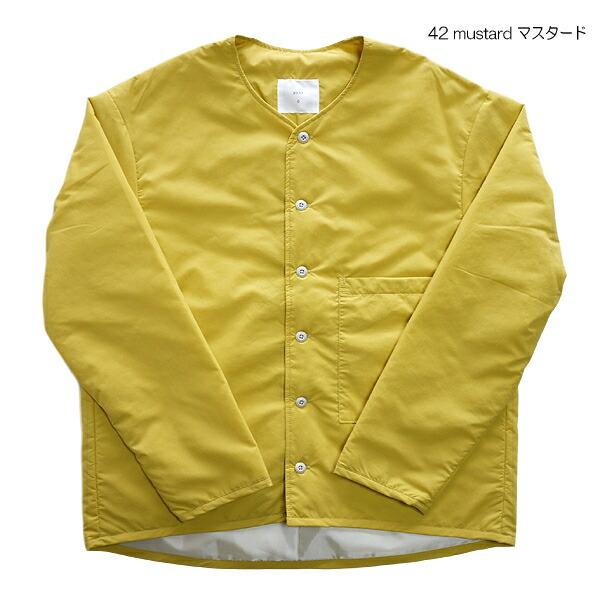 prit 81901 プリット ナイロンタイプライター ボンディング ノーカラーシャツ