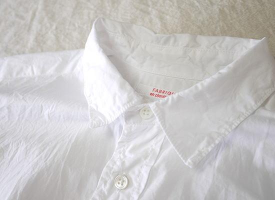 FABRIQUE en planete terre 71135 ファブリケアンプラネテール スーピマコットン オーバーサイズシャツ