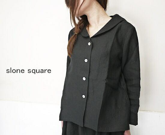 slone square 8029 スロンスクエア リネン セーラー ブラウス ジャケット