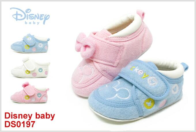 02cfa4ac119683 【楽天市場】ミッキーマウス 靴 キッズ スニーカー ベビー シューズ ファーストシューズ 男の子 女の子 ミニーマウス DS0197:Super  Foot