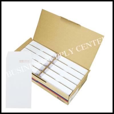 寿堂 特白ケント封筒<サイド貼り・長3〒枠付・1000枚> 08403 (M201703)