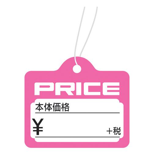 ササガワ18-2335 提札 カバン型 桃 +税 PRICE 1000枚箱入