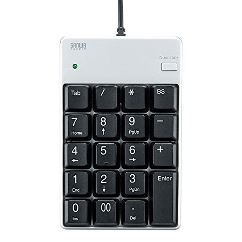 サンワサプライ USBテンキー NT-17UPKN(912) 00028933 【まとめ買い3個セット】