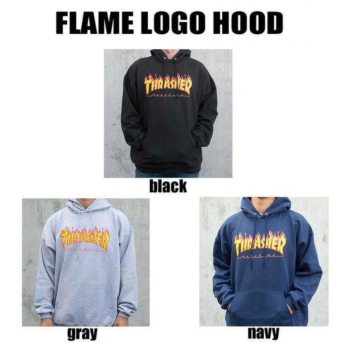 Flame Logo Hood
