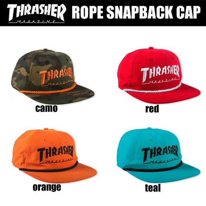 Rope Snapback Cap