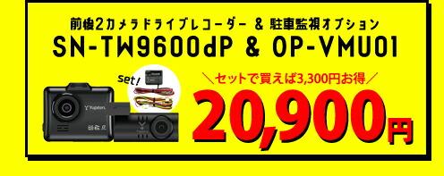 SN-TW9600dP駐車監視セット