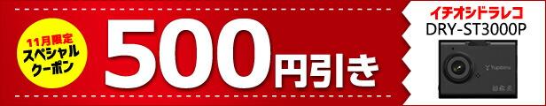 ★11月限定★DRY-ST3000P 500円引きクーポン