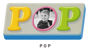 【pop】フチブチ