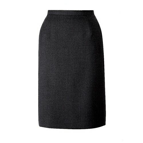 品よくまとまるセミタイトスカート/事務服・制服におすすめ!/ブラック/チャコール/FOLK/nuovo/FV4568-1/FV4568-2