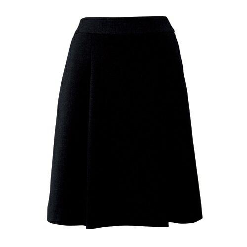 柔らかな印象を放つソフトプリーツスカート/事務服・制服におすすめ!/ブラック/チャコール/FOLK/nuovo/FV45728-9/FV45728-55