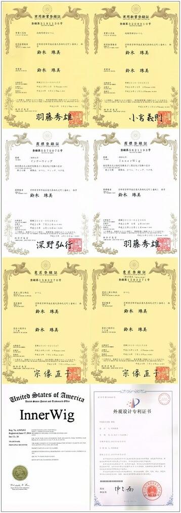 鈴珠 実用新案権,特許権,商標権,意匠権