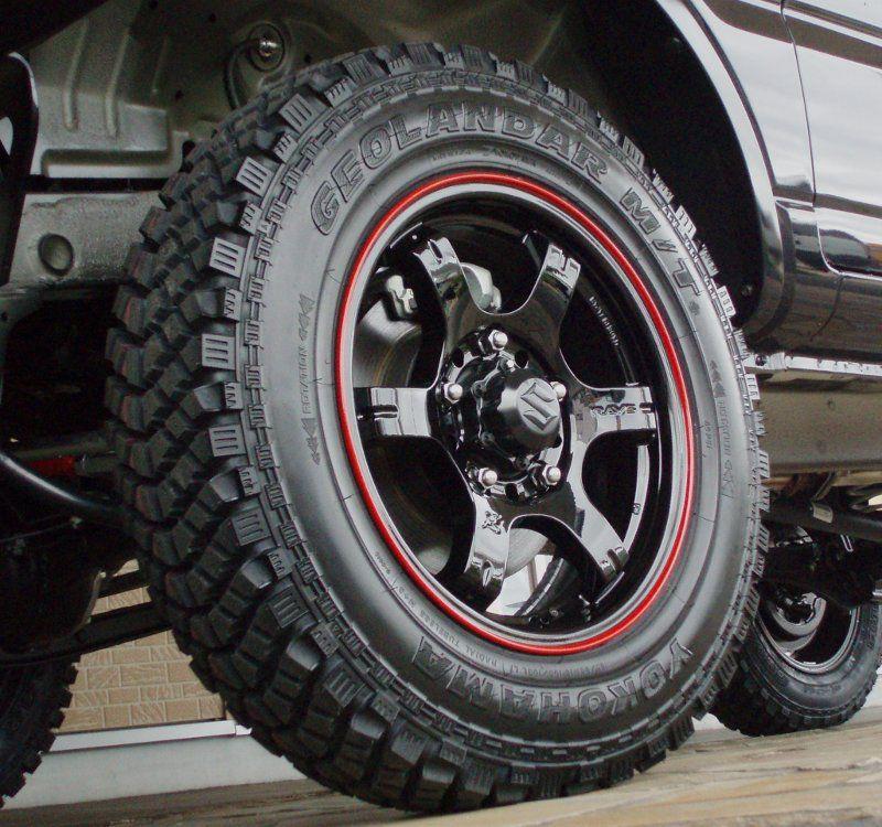 Black Suzuki Samurai Wheels