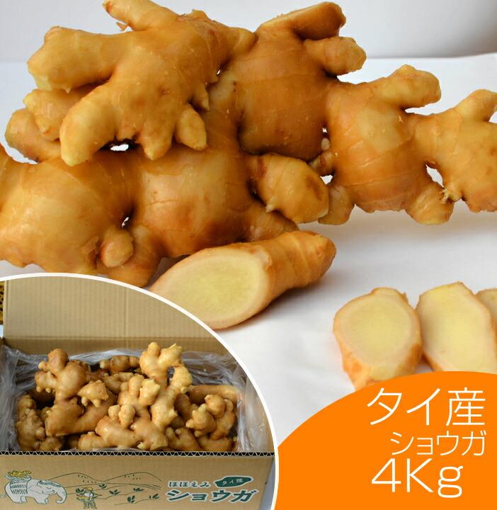 タイ産近江生姜4kg
