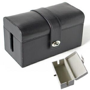 ケーブル収納ボックス レザー