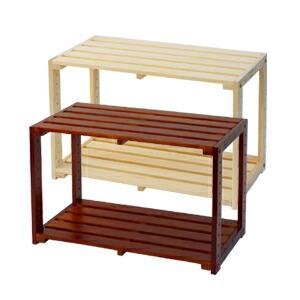木製ラック2段