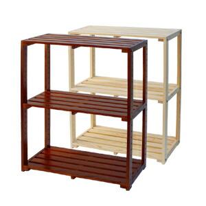 木製ラック3段