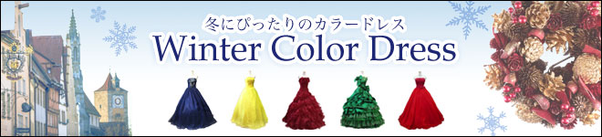 冬色ドレス