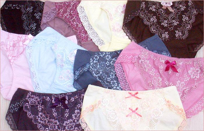穿きやすくて可愛い綿のロングセラー ヒップハンガーショーツ 優しい穿き心地に満足ボディラッピング ショーツ