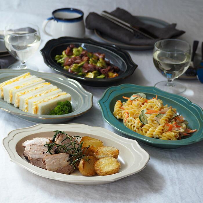 洋食からエスニック料理にと幅広く使える深皿はディナープレートにもオススメ