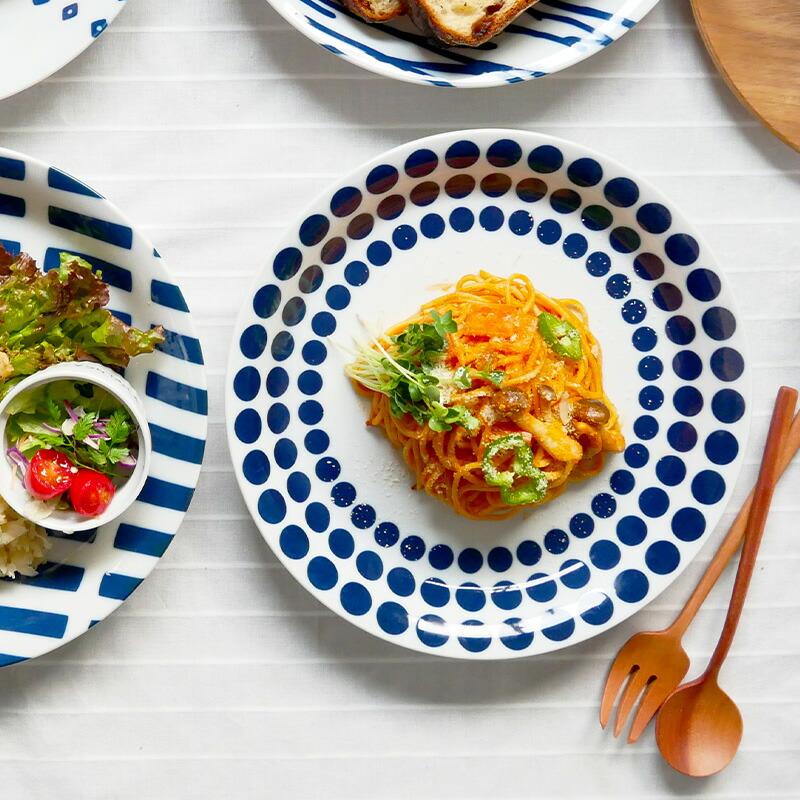 北欧風pattern 食器パスタ皿