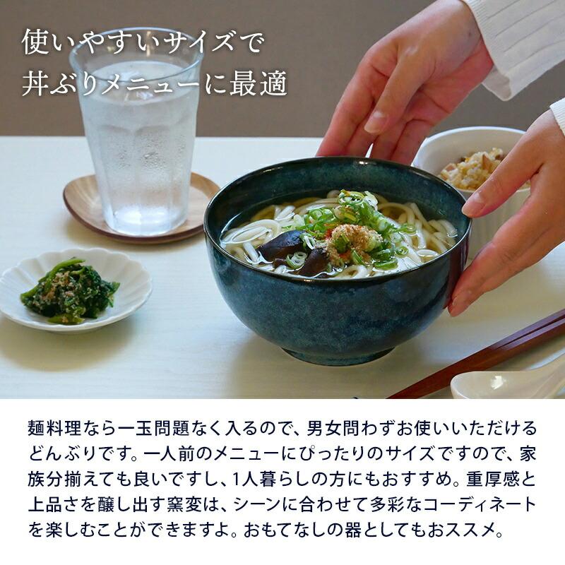 16cmの丼は丼もの、麺鉢に最適