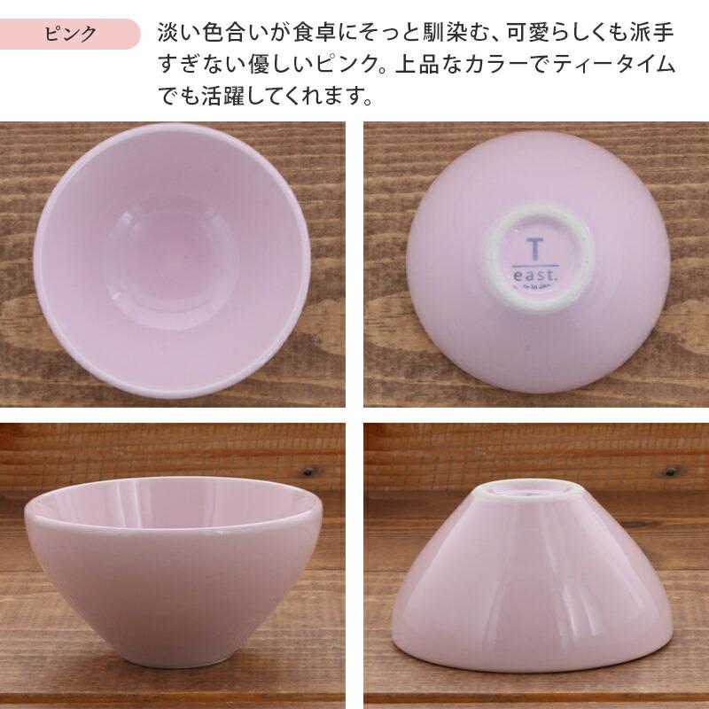 ピンクはかわいい食器として女性に人気