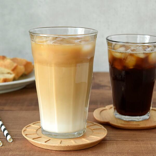 カフェオレ、ジュースに最適なガラス食器
