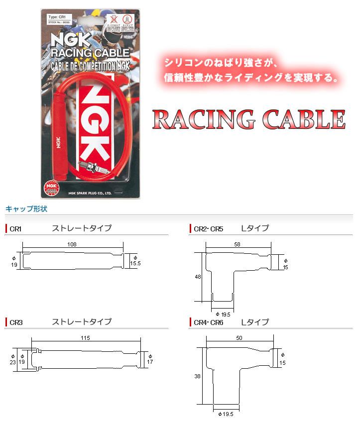 /& CR4/Plug NGK Racing Spark Plug Lead