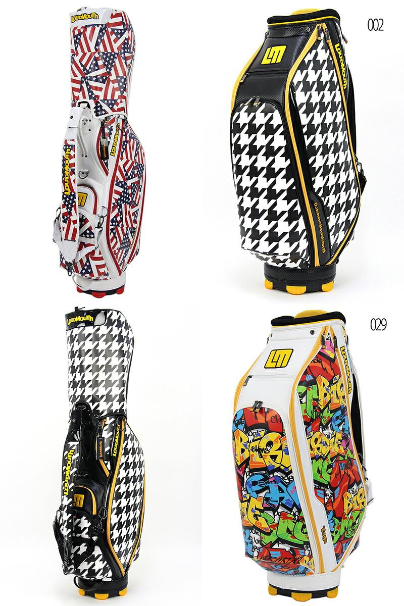 ラウドマウスゴルフ日本正規品のキャディバッグ