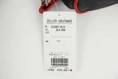 ツェラーゴルフのヘッドカバー画像
