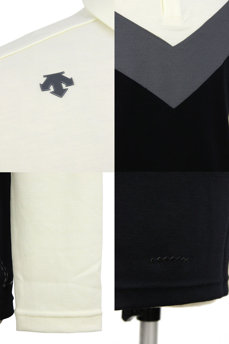 デサントゴルフのポロシャツ画像
