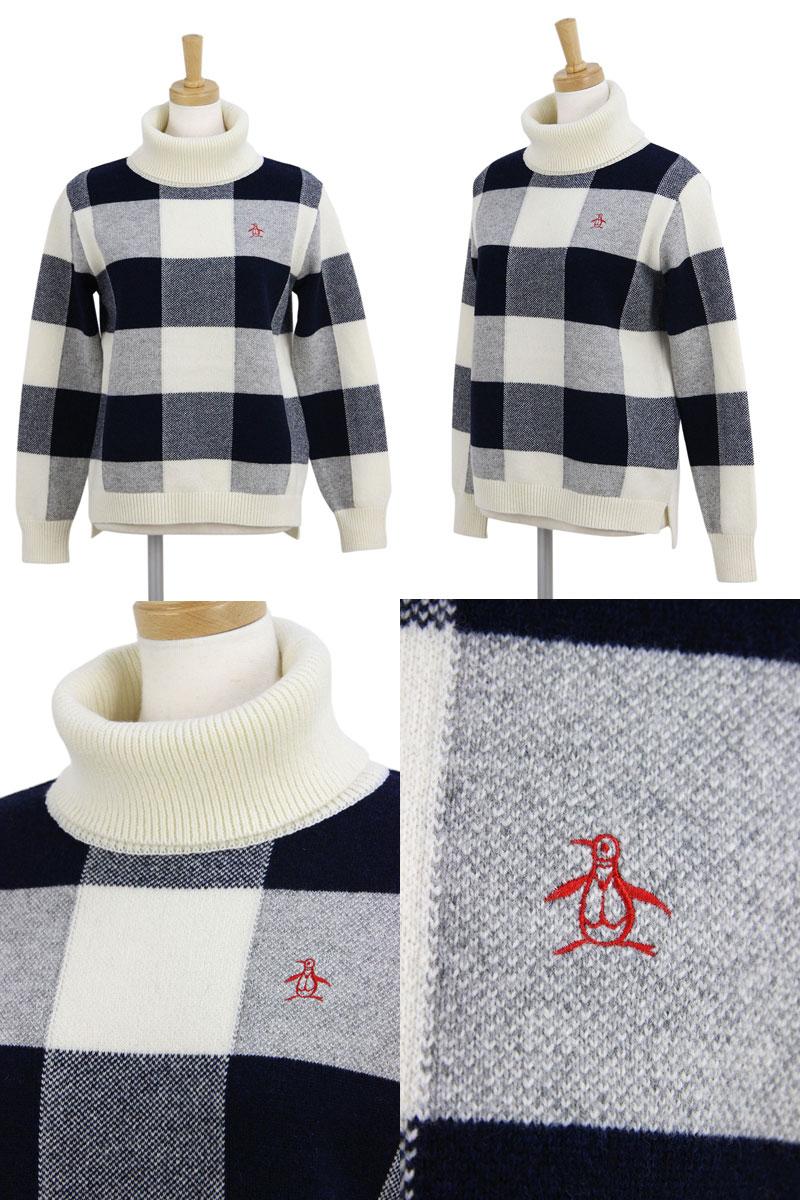 マンシングウェアのセーター画像