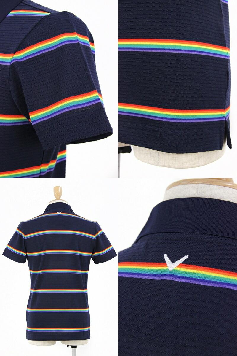 キャロウェイアパレル/キャロウェイゴルフの半袖ポロシャツ