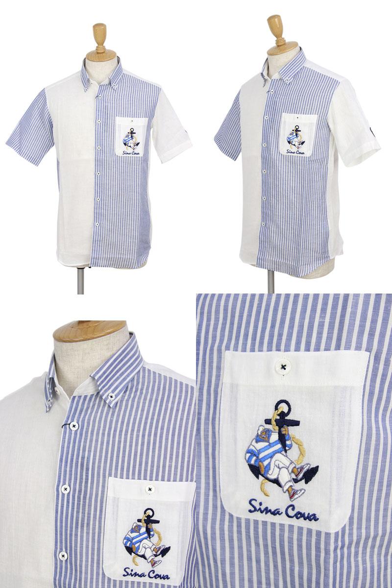シナコバ×Genovaのカジュアルシャツ画像
