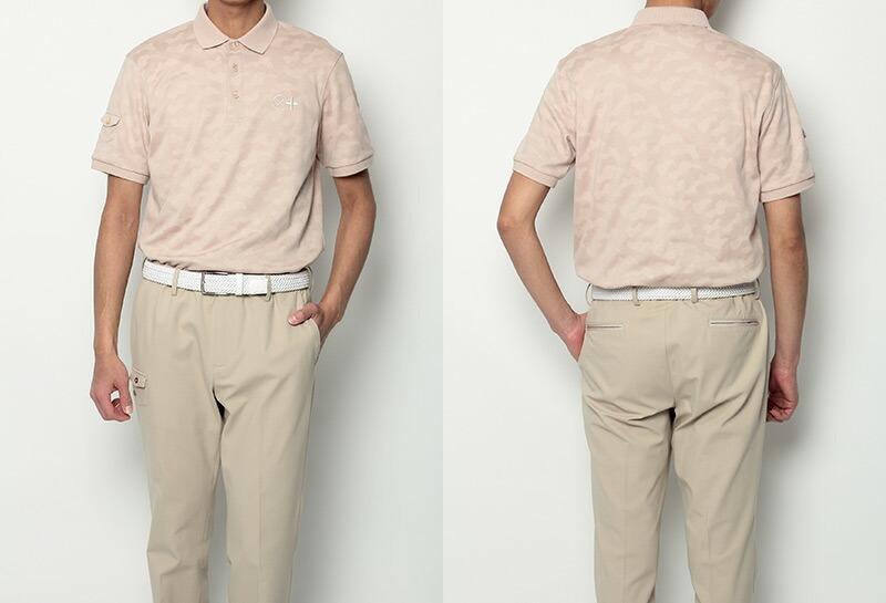 スツールズ カミーチャスポルティーバプラスの半袖ポロシャツ画像