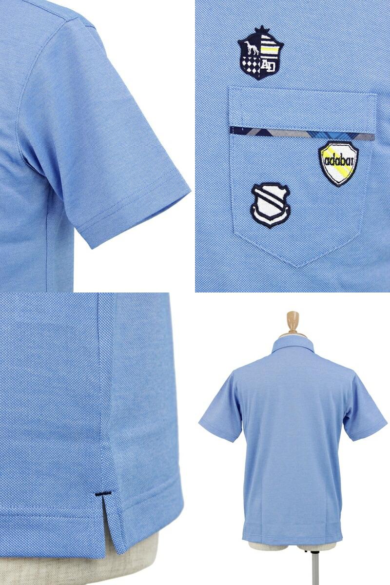 アダバットの半袖ボタンダウンシャツ