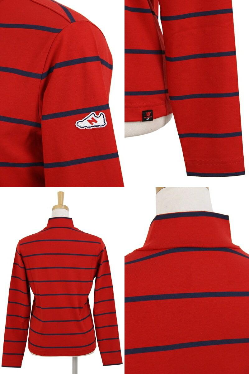 ニューバランスのポロシャツ画像