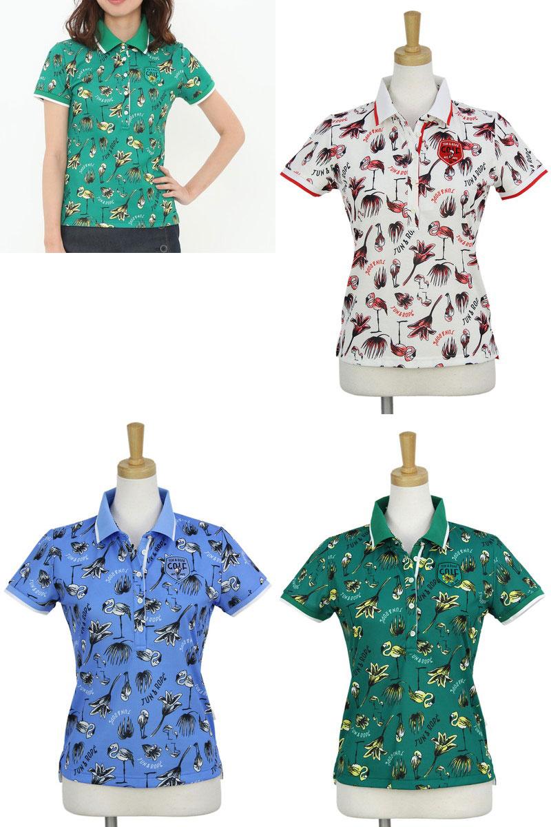 ジュン&ロペのポロシャツ画像