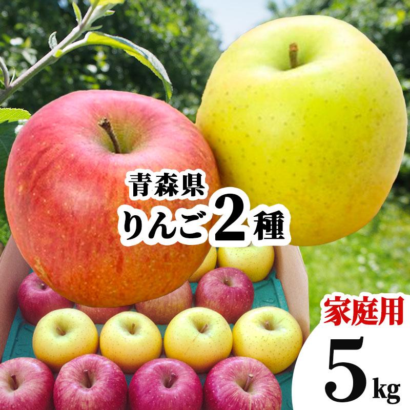 送料無料 青森県 りんご 詰め合わせ 訳あり 5kg