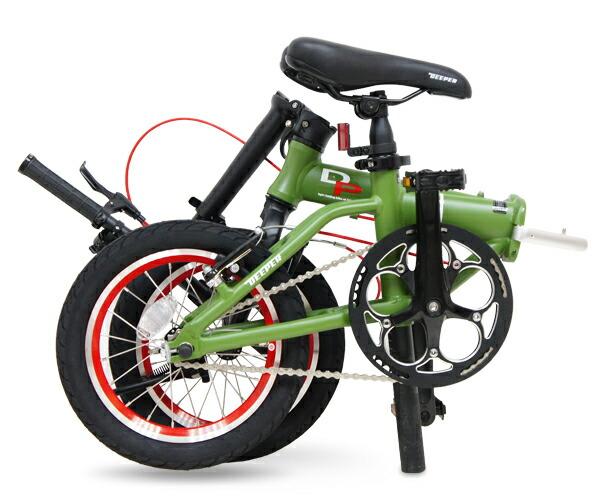 自転車/折りたたみ自転車/14インチ/軽量/スポーツ/アウトドア